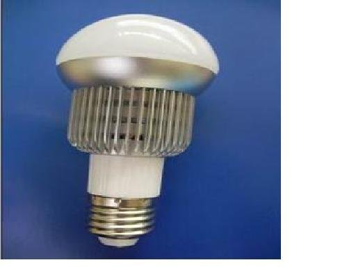 E27 5*1W LED Bulb with 85 to 265V AC Input; 3 and 420lm Luminous Flux, large stock, please advise which color you need;