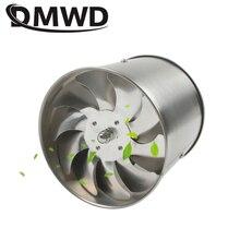 DMWD 6 дюймов из нержавеющей стали вытяжной вентилятор 6 ''Туалет Кухня Ванная висячая Стена Окно воздуховод вентилятор воздуха вентилятор экстрактор воздуходувка
