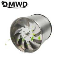 DMWD 6 дюймов из нержавеющей стали вытяжной вентилятор 6 ''Туалет Кухня Ванная висячая Стена Окно воздуховод вентилятор воздуха вентилятор экс...