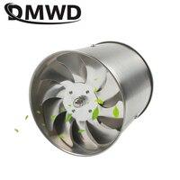 DMWD 6 Inch Stainless Steel Exhaust Fan 6'' Toilet Kitchen Bathroom Hanging Wall Window Duct Fan Air Ventilator Extractor Blower