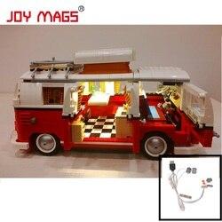 JOIE MAGS Seulement Led Lumière Kit Pour Créateur Volkswagen T1 Camping-Car Light Set Compatible Avec 10220 Et 21001 (ne pas Inclure Modèle)