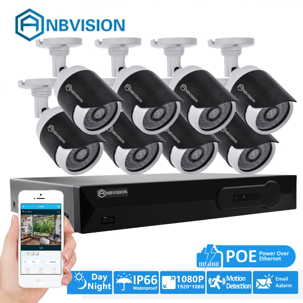 Eyessys H 265 8ch Cctv Surveillance Kit 2mp Security