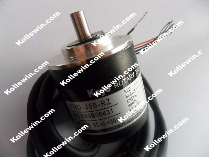 TRD-J50-RZ Type Encoder / incremental rotary encoder / push-pull output DC5-30V, New In Box, Free Shipping. nib rotary encoder e6b2 cwz6c 5 24vdc 800p r