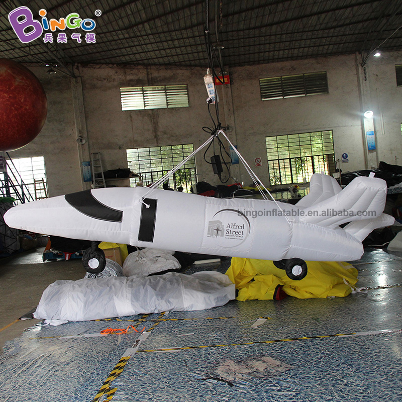 PROMOTIONAL BALLOON 2.5m inflatable aircraft model air charging suspended airship plane fighter decorating customization displayPROMOTIONAL BALLOON 2.5m inflatable aircraft model air charging suspended airship plane fighter decorating customization display
