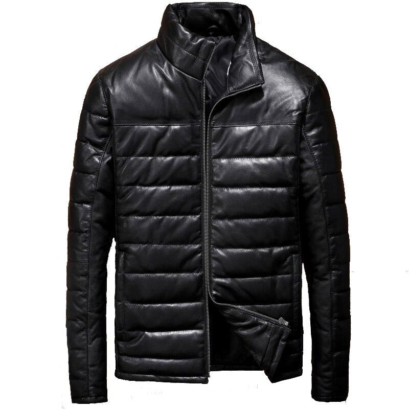 Slim Mouton Chaud Manteau Russe Vers Taille De Cuir Véritable D'hiver Chaud Plus Noir La Bas Le Xxxl Veste En Peau Hommes Casual Black Fit 6nAqH