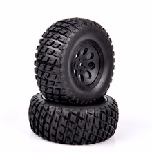 1/10 Scale RC Short Course Truck Tire & Wheel For RC 1:10 Short Course Truck Model Accessory