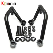 KEMiMOTO 2013-2017 pour YAMAHA MT-09 FZ 09 MT09 2017 Moteur accessoires Avant Garde Moteur Crash Bars Moto Pièces MT 09 2017