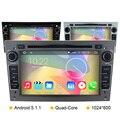 """7 """"2 din Car Radio CD Dvd GPS Opel Android 5.1.1 de navegación para Opel Vectra Zafira Antara Corsa Meriva Astra H Vivaro"""