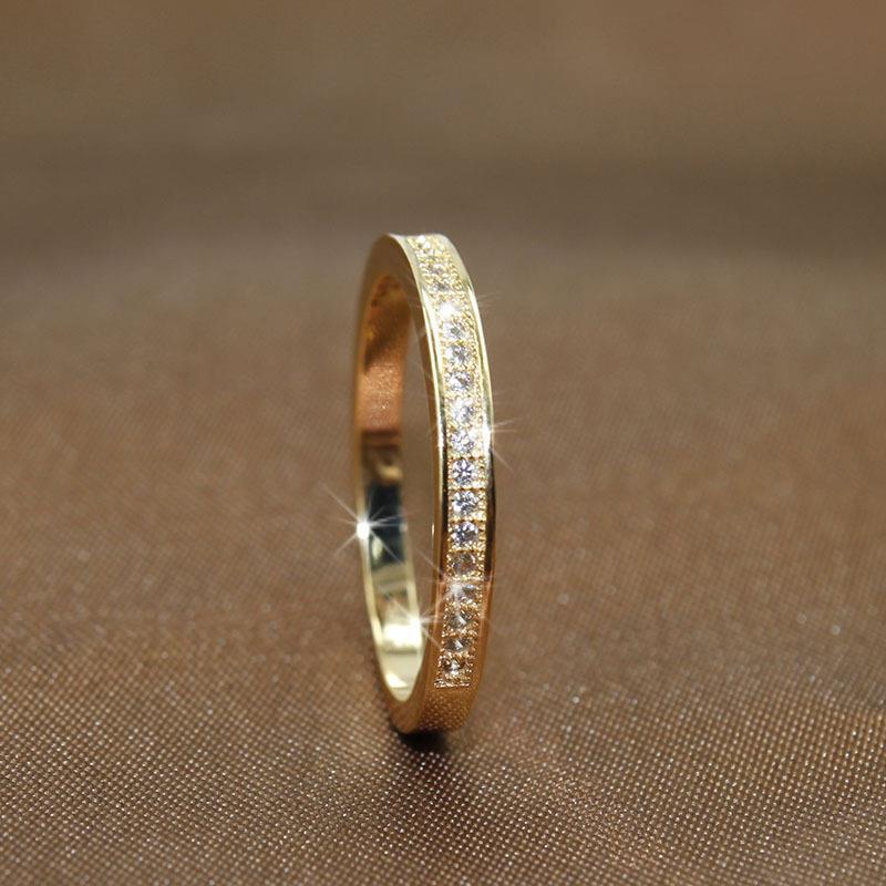3 цвета простые золотые розовые серебряные круглые кольца для