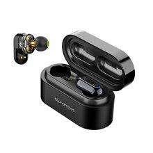SoundPEATS 真ワイヤレスイヤフォン Bluetooth 5.0 インイヤー低音ステレオ IPX6 防水イヤホン Bluetooth ヘッドセット TWS イヤフォン