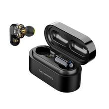 SoundPEATS Echte Draadloze Oordopjes Bluetooth 5.0 in ear Bass Stereo IPX6 Waterdichte Oordopjes Bluetooth Headsets TWS Oordopjes