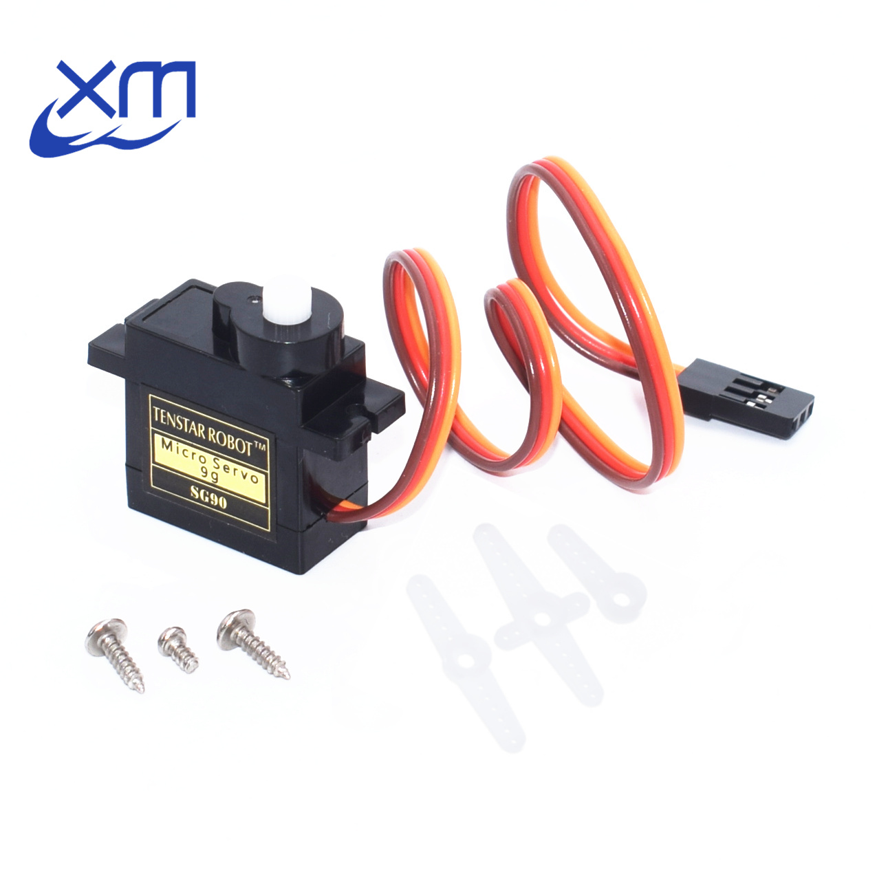 50pcs/lot 9g micro servo for airplane aeroplane 6CH rc helcopter kds esky align helicopter sg90 black