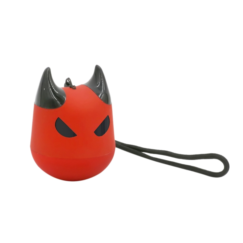 Portable Bluetooth Speaker With Microphone Phone Support Selfie Cartoon  Little Devil Voice Prompt Sub Woofer Dust