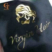 Bolsa de almacenamiento de peluca, bolsa de satén, bolsa de satén de Peluca de pelo virgen 28*40cm