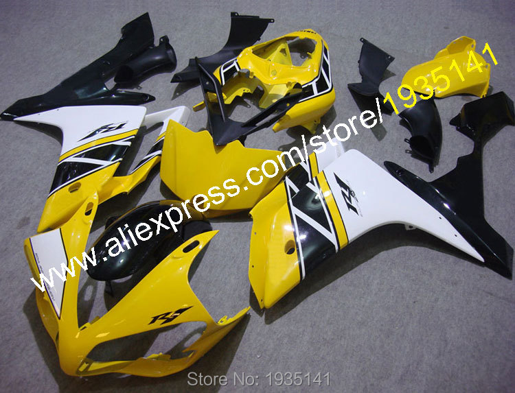 Hot Sales,Motorbike cowling For Yamaha YZF R1 2007 2008 Accessories YZF-R1 07 08 YZF1000  Motorcycle Fairing (Injection molding) поршень 04 08 yzf1000 r1