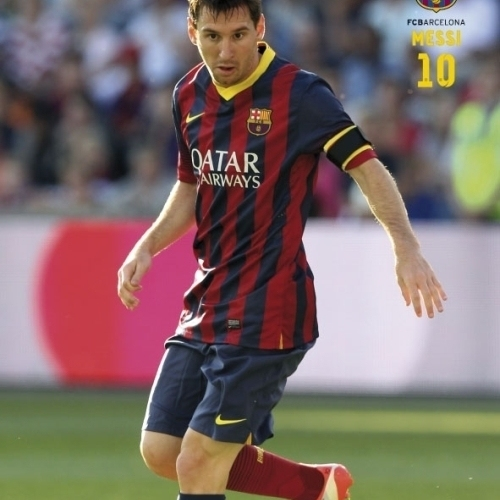 Fc Barcelona – Messi (Action) Laminated Poster (24 x 36)