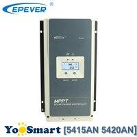 EPever 50A 12/24/36/48 V авто Контроллер Заряда MPPT Подсветка ЖК дисплей солнечных панелей Общие Отрицательный заземления Tracer 5415AN 5420AN