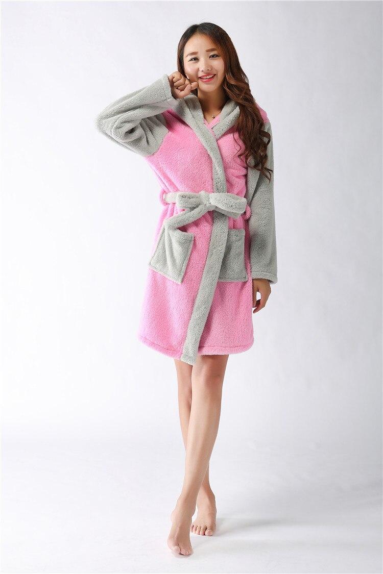 53b1d47549 Aliexpress.com   Buy 2016 Fashion Flannel Fleece Sexy Leopard bear Women  robe Cartoon Hooded Night Dress Sleepwear Long Sleeved Long Nightgown from  Reliable ...