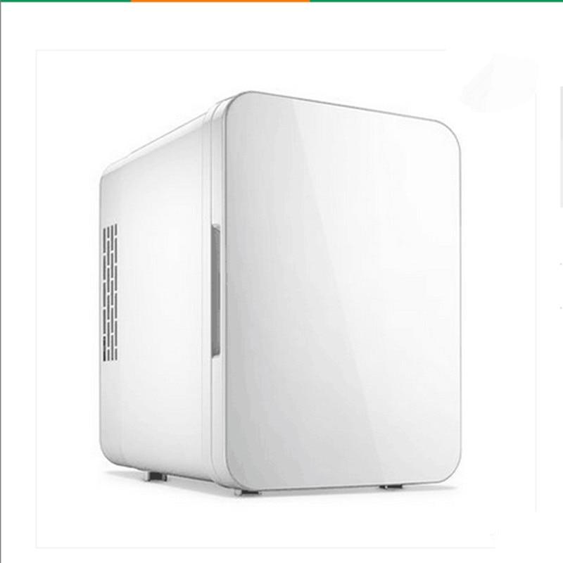 220V Electric Mini Car Refrigerator 4L 12V Cooler And Warmer Portable Travel Car Fridge Machine Ultra Mute