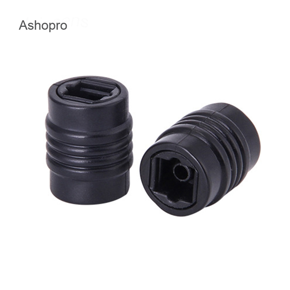E-outstanding 2PCS Optical Cable Coupler Digital Audio Extension Adapter Female to Female Fiber Optic Extension Adapter
