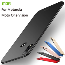 MOFi For Motorola Moto One Vision Cover Case PC Hard Phone Cases For MOTO One Zoom E6 Plus Z4 Force Play P50 Note P40 One Pro