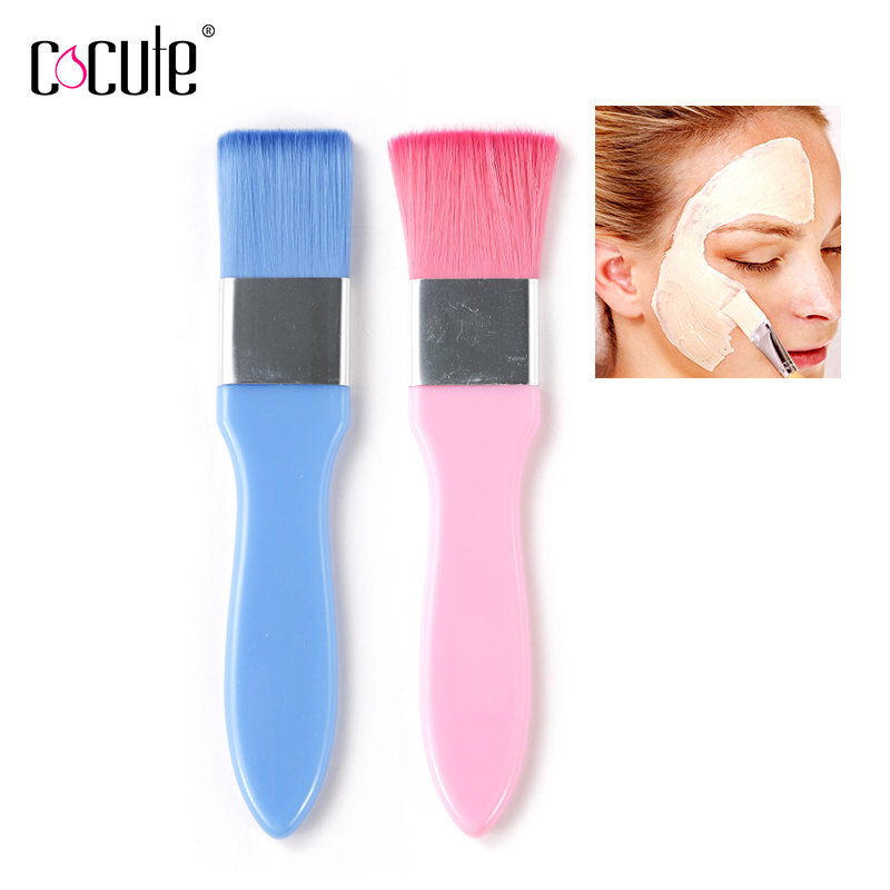 1 PCS Women Beauty Professional Single Facial Mask Brush Face Cosmetic Beauty Tool Soft Synthetic Hair
