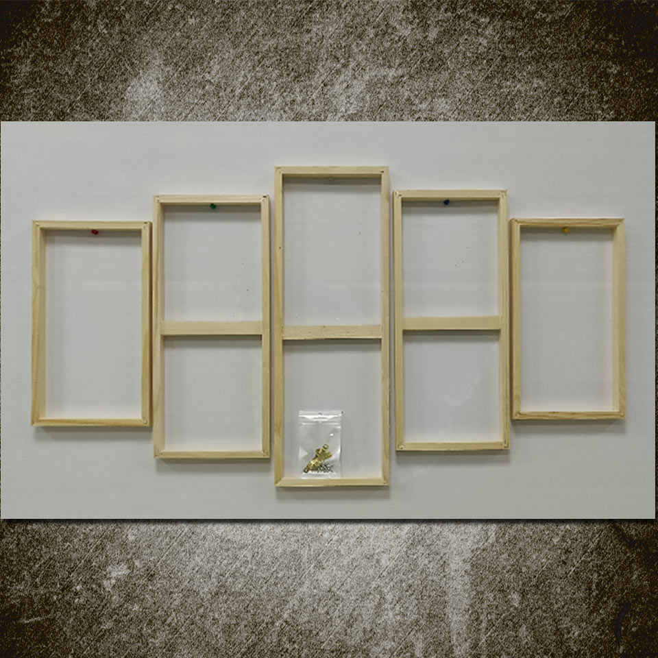 Art Sailing wooden frame for 5 piece canvas ( A model ) SK-055 Wooden Frame for Canvas Painting