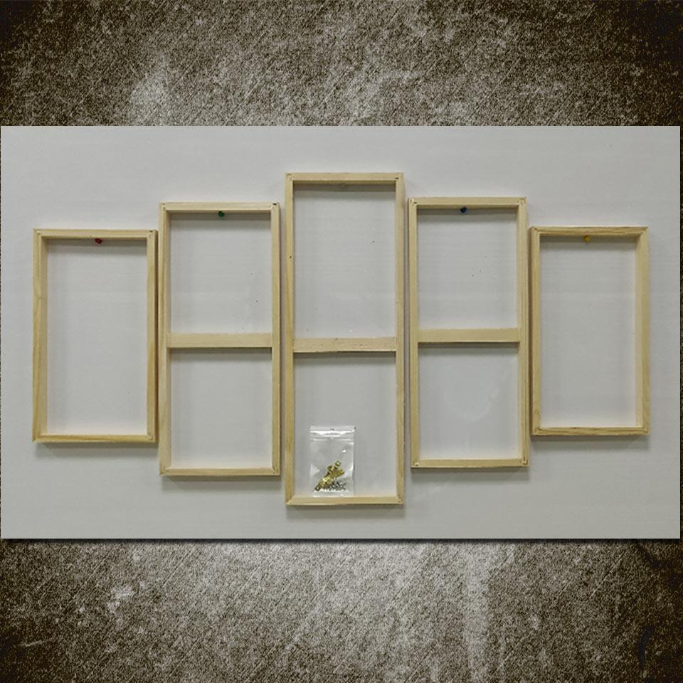 Canvas Frame Kopen.Beste Kopen Art Zeilen Houten Frame Voor 5 Stuk Canvas Een