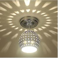 Modern ceiling llights Electroplated Feature for LED Mini Style Metal Living Room Dining Entry Hallway Aisle lamp ceiling lamps