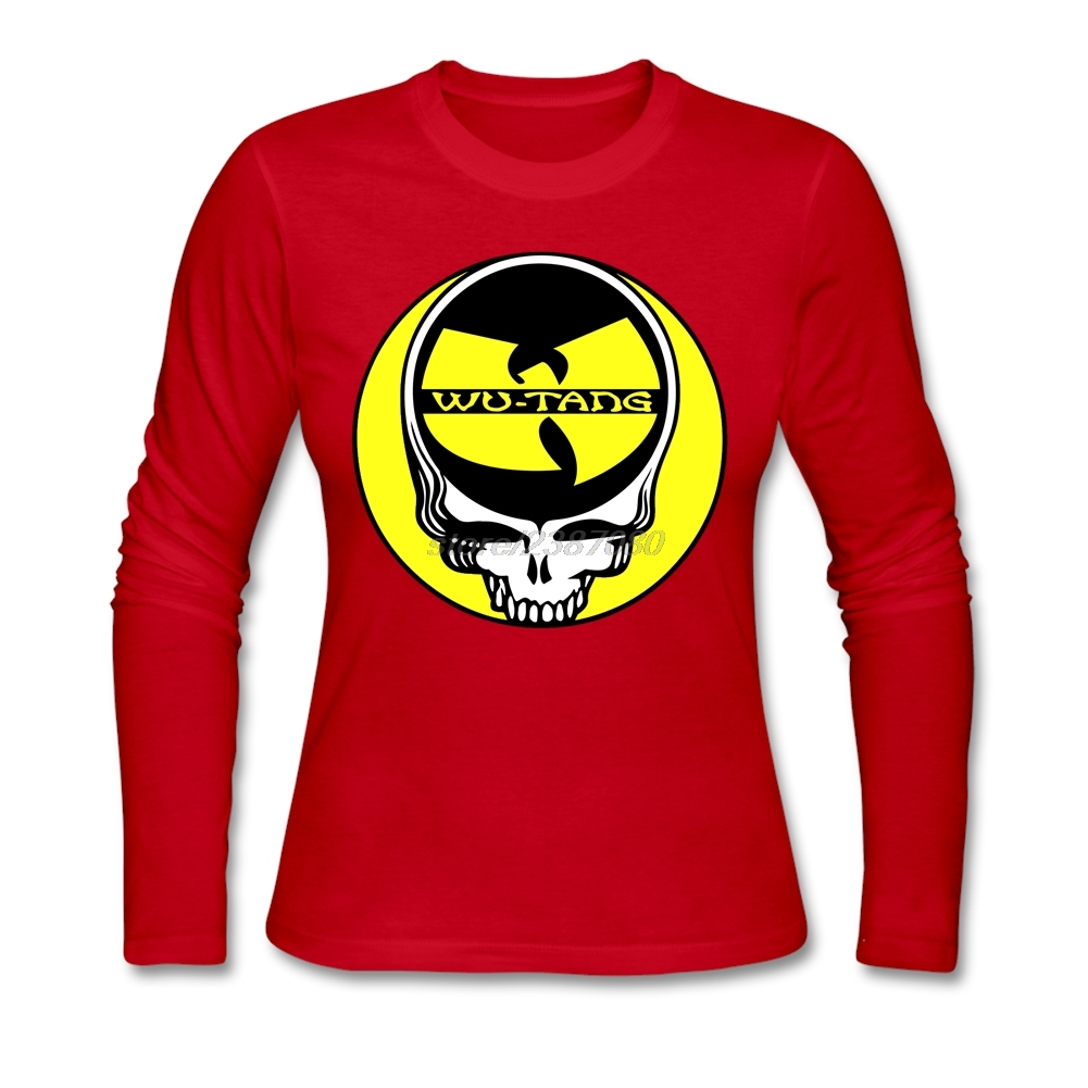 Clothes Women Steal Your Face Wu Tang Clan Cotton Printed Clothing Youth Round Neck Low Price Trendy T Shirts