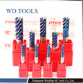16.0X100LX16D HRC70 NACO покрытие  торговая гарантия  высокое качество  TialN покрытие  вольфрамовое твердосплавное покрытие  квадратная Концевая мельни...