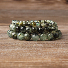 Lingxiang Crystal green beads bracelet is suitable for men and women to wear elastic beads jewelry fashion trend bracelet highlight women s fashion shoes strong is not easy to wear suitable for girls to wear shoes in formal places low price for sale