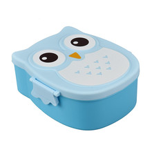Owl Lunch Box Food Container Storage Portable Bento Jun30 Professional Factory price Drop Shipping