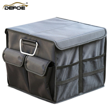 car organizer trunk Car storage box folding Multi-function home  backup Trunk bag