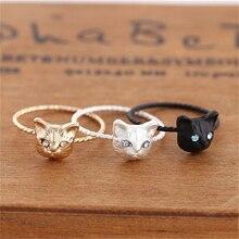 Estilo simples Anéis Gato Lindo Nova Marca JORRANDO Design Na Moda Bonito  Jóias Anéis de Dedo Para As Mulheres Presente Da Menin. b69cd34f3e4eb