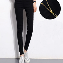 Women Plus Size High Waisted Trousers Skinny Pants Trousers Elastic Pencil Pants High Waist Pants
