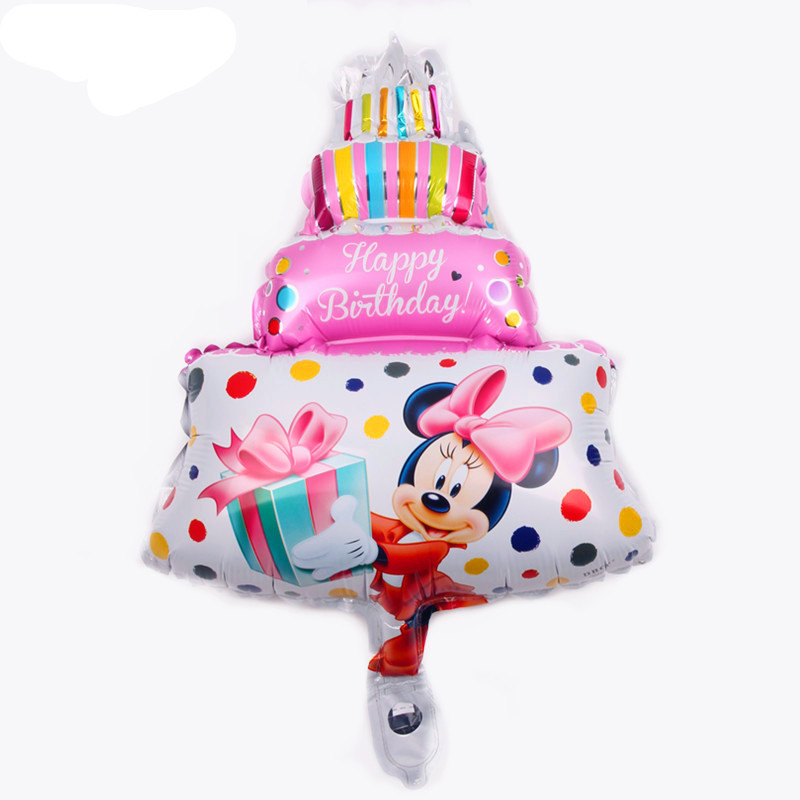 Все манеры Микки Минни воздушные шары на день рождения надувные декорации для вечеринки воздушные шары Детские Классические игрушки мультфильм шляпа - Цвет: 23