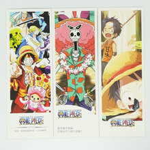 36 Pcs/Set Anime One Piece Paper Bookmark Stationery Bookmarks Book Holder Message Card Gift Stationery