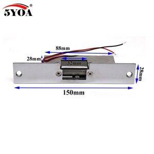 Image 2 - Fechadura elétrica para sistema de controle de acesso, fechadura 5yoa novo strikel01