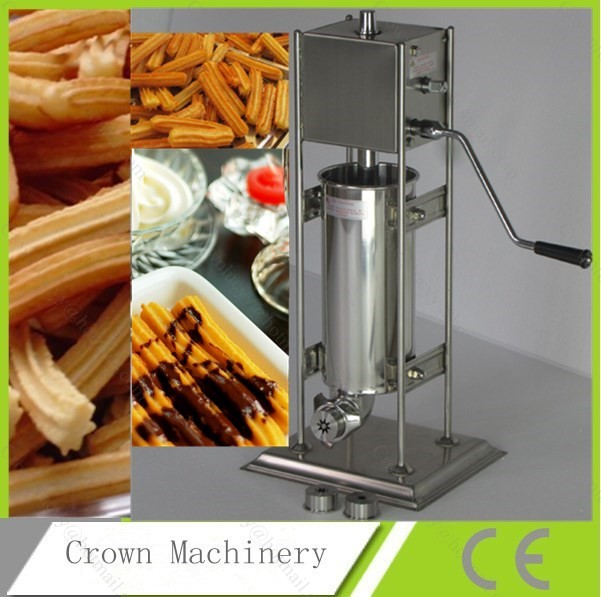 CE approved 3L manual Spain churros machine for sale
