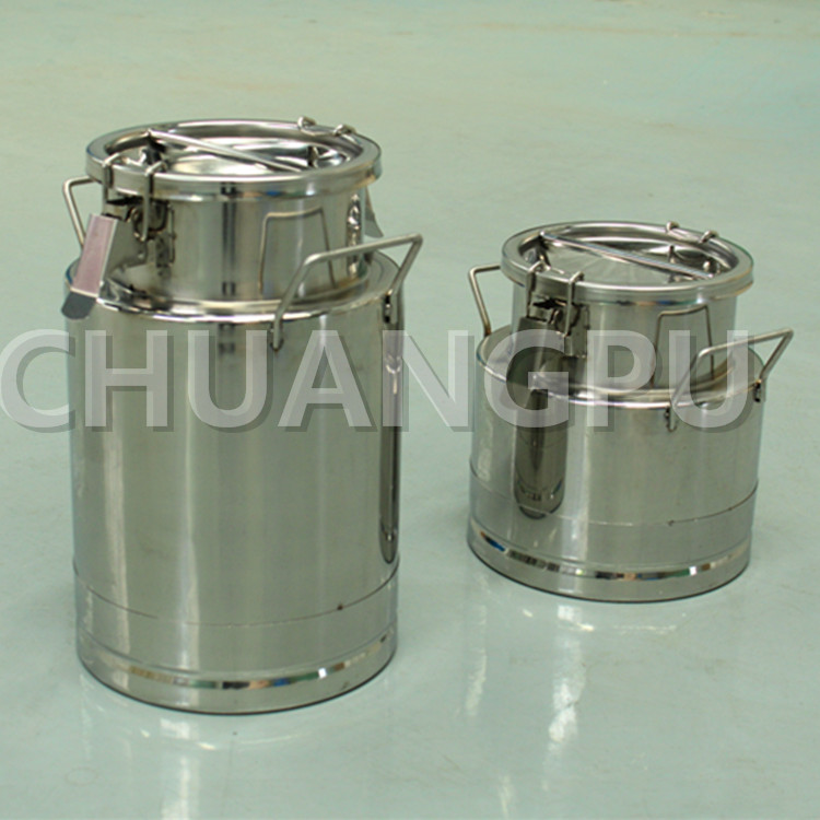 Small Stainless Steel Milk Bucket with 5Liter Capacity