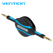 Vention Retractable Aux Cable 3.5mm Audio Cable Jack 3.5 Male Aux Cord For Car Stereo iPhone 8 Samsung S8 Headphone Speaker