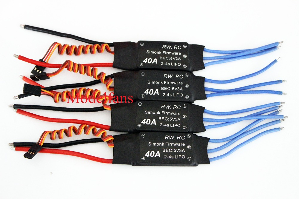 Firmware Simonk 40A Elettronico Speed Controller ESC per RC Helicopter Multicopter