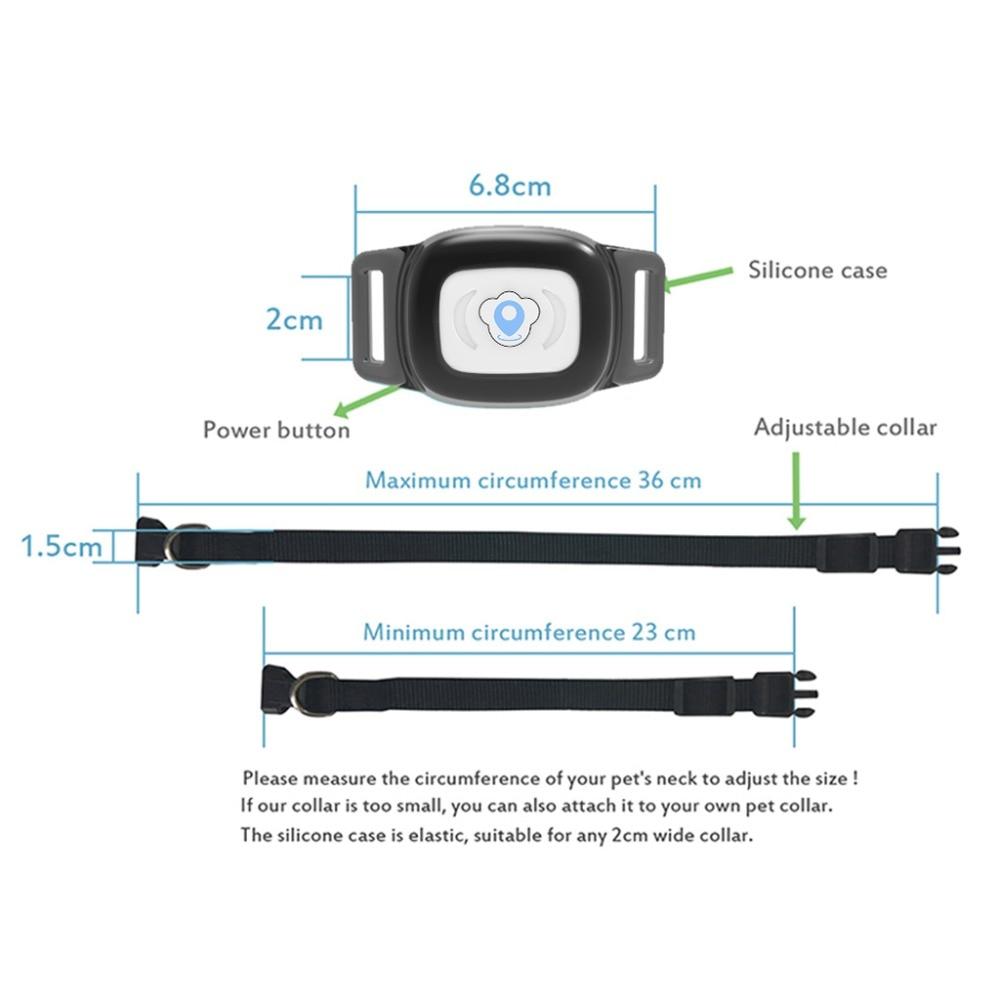 Smart GPS Pet Collar Tracker 2