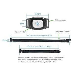 Image 3 - MiNi rastreador GPS para mascotas, rastreador inteligente resistente al agua IP67, Collar para perro, gato, AGPS LBS, dispositivo de seguimiento de geo cerca de posicionamiento SMS