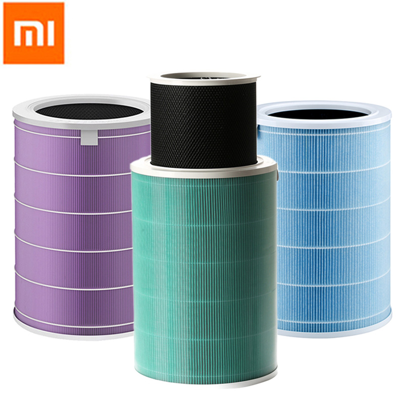 все цены на Original Xiaomi Air Purifier Filter Mijia Air Purifier Accessories Parts Sterilization Bacteria Purification PM2.5 Formaldehyde