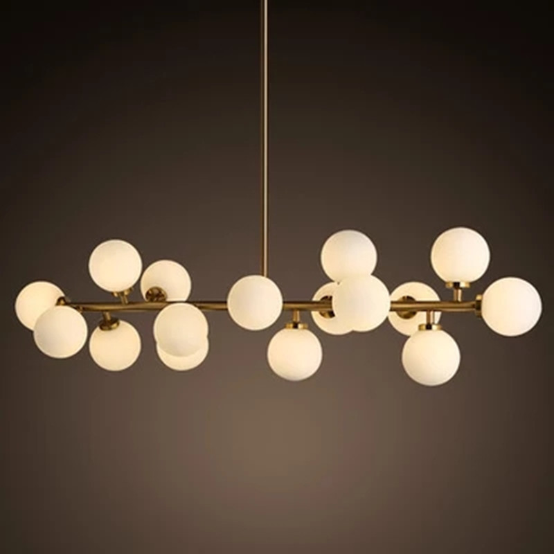 Modern Glass Pendant Light Nordic Dining Room Kitchen Designer Hanging Lamps Avize Lustre Lighting For In Chandeliers From Lights