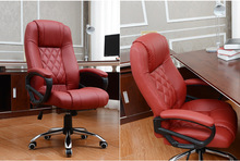 360 Degree Swivel Revolving Lift Chair PU leather Executive Computer chair Living Room Leisure chair(China)
