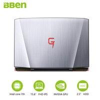 BBEN G16 Laptop For Gaming 15 6 Inch Fast Running 32GBRAM 256GB SSD 2TB HDD 1920x1080