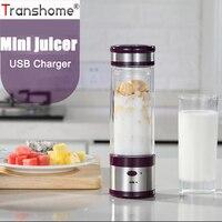 Portable USB Rechargeable Électrique Fruits Presse-agrumes Tasse Milk-Shake Smoothie Maker Fruits Mélangeur Fruits Légumes Outils de Cuisine Gadgets